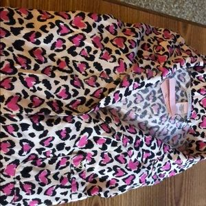 Victoria Secret  heart print PJs